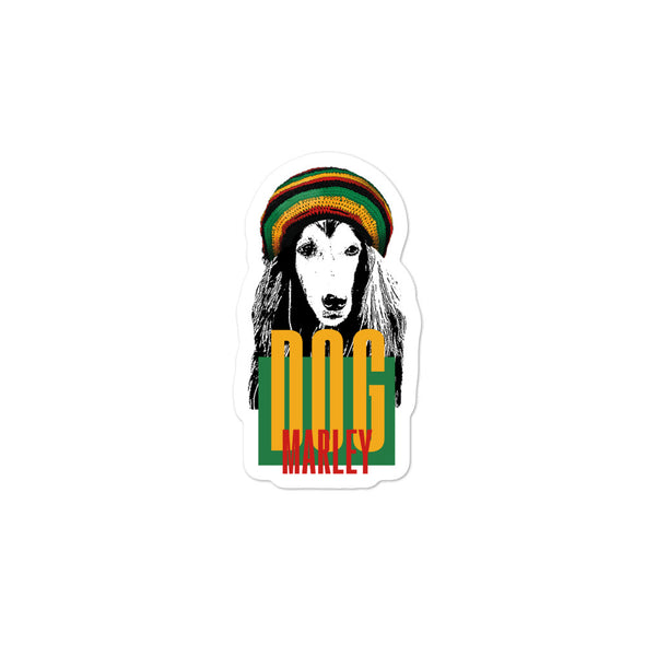 Dog Marley Premium Sticker