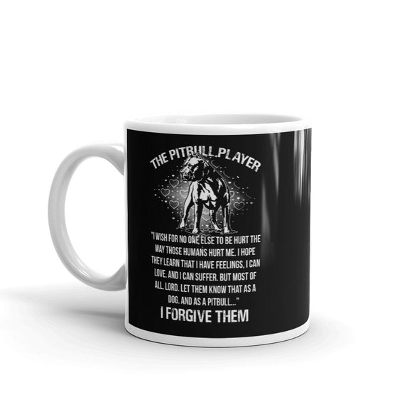 Pitbull Player Dog Coffee Mug