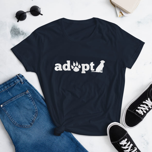 Adopt Dog t-shirt for Dog Lovers