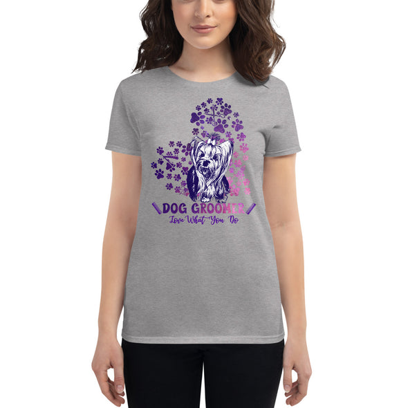 Dog Groomer Love What You Do T-Shirt