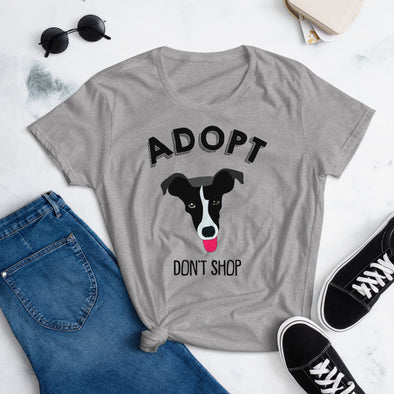 Adopt Don't Shop T-Shirt for Women