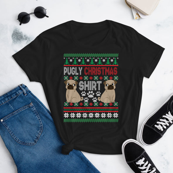 Pugly Christmas T-Shirt