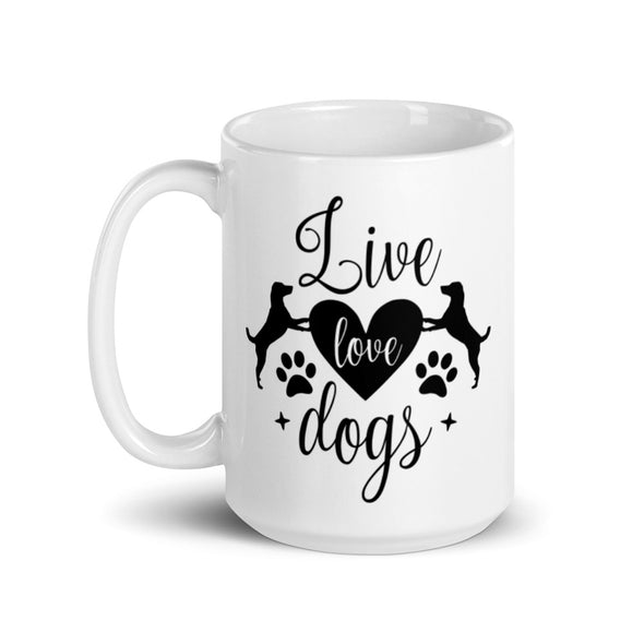 Live Love Dogs Coffee Mug