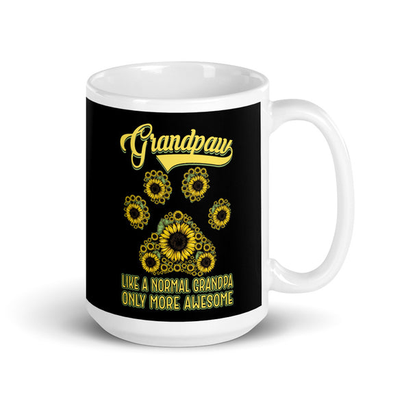 Grandpaw Like a Normal Grandpa Only More Awesome Mug