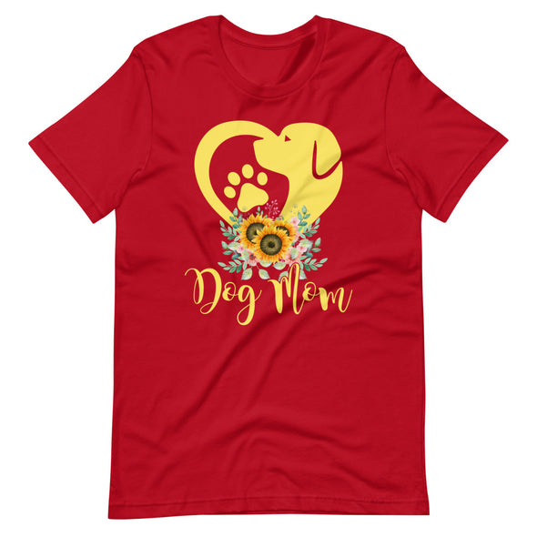 Dog Mom Love Unisex T-Shirt
