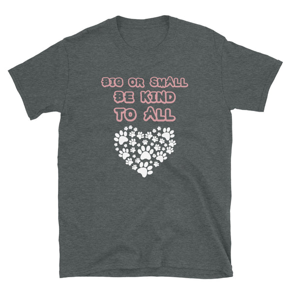 Big or Small Be Kind to All Unisex T-Shirt