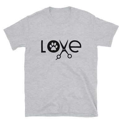 Paw Love Dog Groomer Unisex T-Shirt