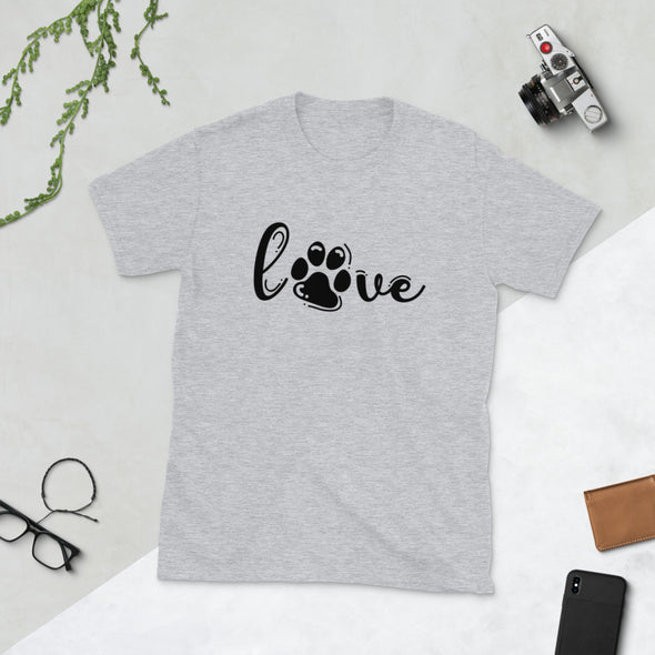 Paw Love Short-Sleeve Unisex T-Shirt