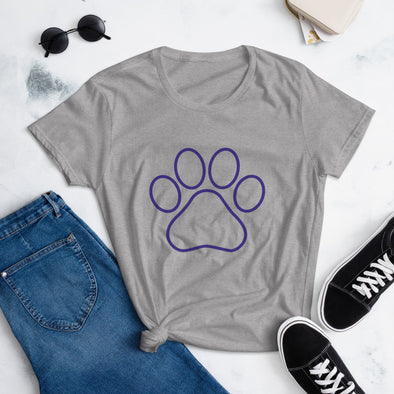 Paw Print Shirt for Women