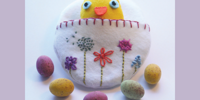 How to make an Easter Felt Chick!