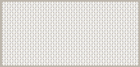 What does cross stitch fabric look like