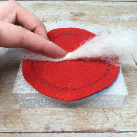 How to make your own rustic felt coasters