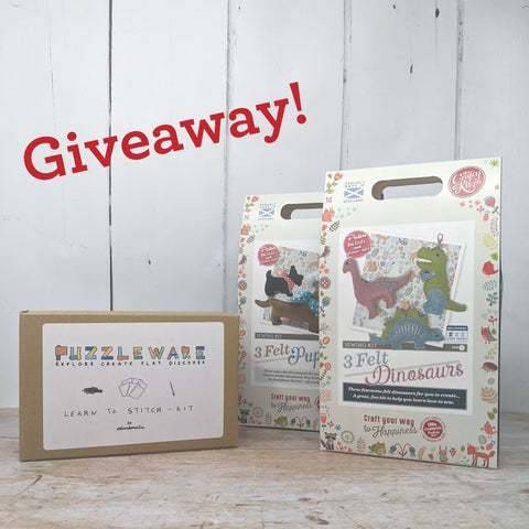 Kids' sewing giveaway Almaborealis & The Crafty Kit Company