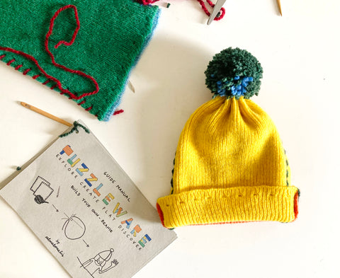 Puzzleware Build Your Own Beanie Almaborealis Lts 2021