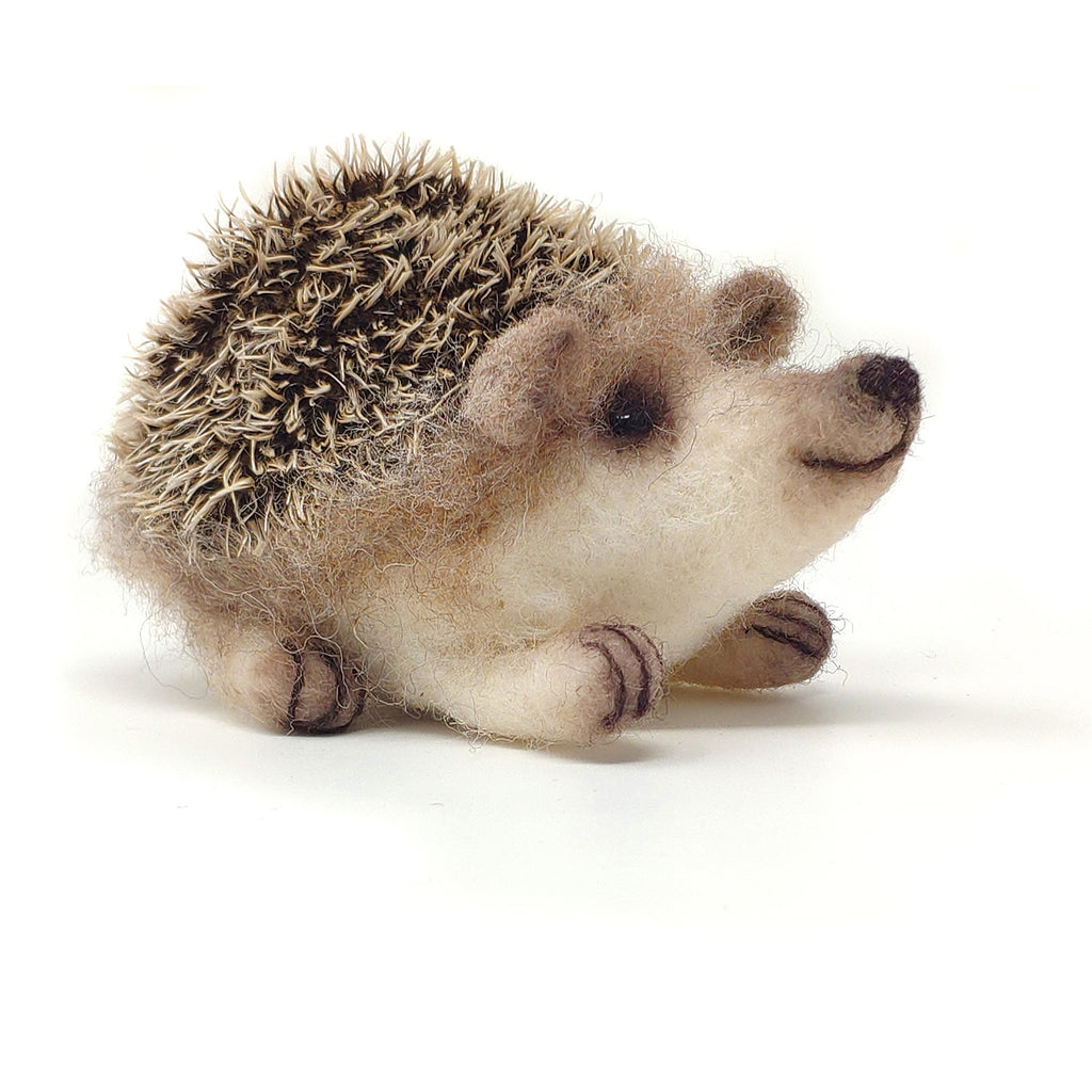 The Crafty Kit Company Needle Felted Baby Hedgehog Kit