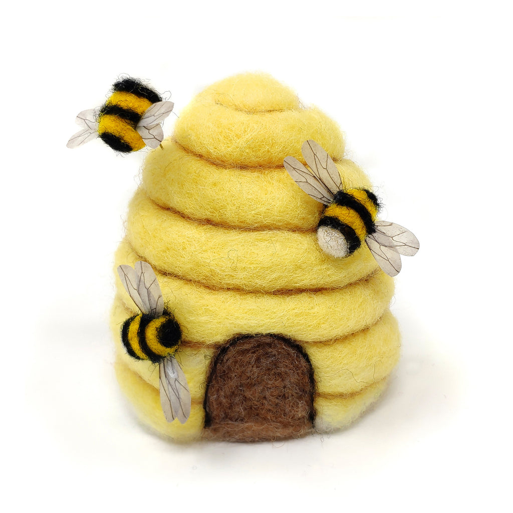 The Crafty Kit Company Bee Hive Needle Felting Kit