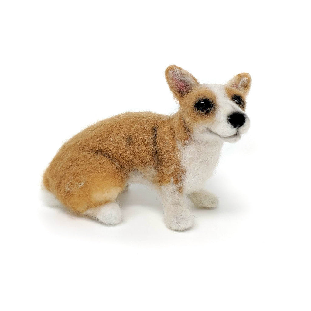 The Craft Kit Company Dinky Dogs Corgi Needle Felting Kit