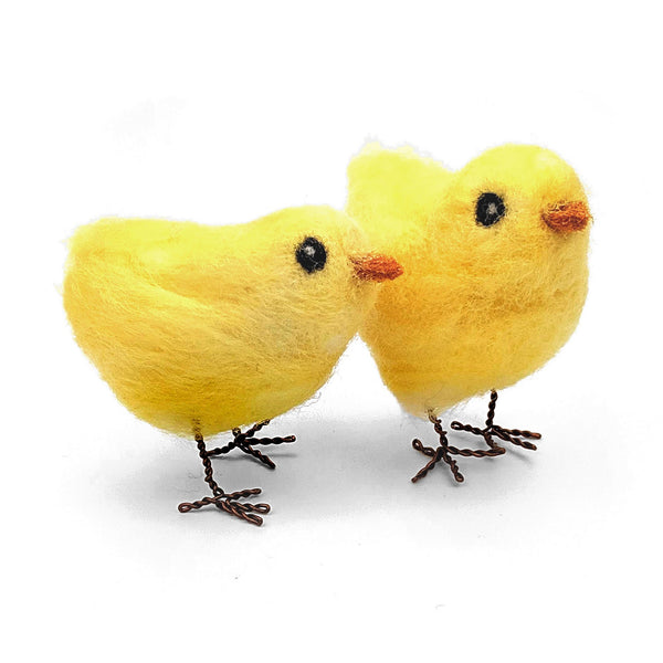 The Crafty Kit Company Easter Chicks Needle Felting Kit