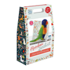 The Crafty Kit Company Rainbow Lorikeet Needle Felting Kit Box