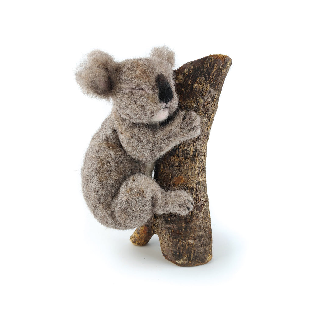 The Crafty Kit Company Sleepy Koala Needle Felting Kit