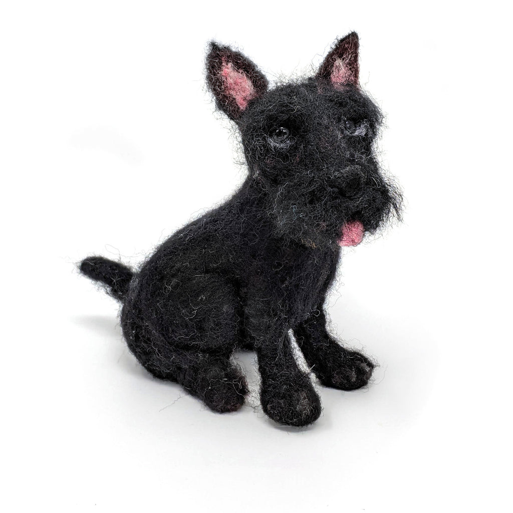 The Craft Kit Company Dinky Dogs Scottie Needle Felting Kit