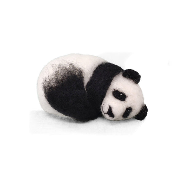 The Crafty Kit Company Sleepy Panda Needle Felting Kit