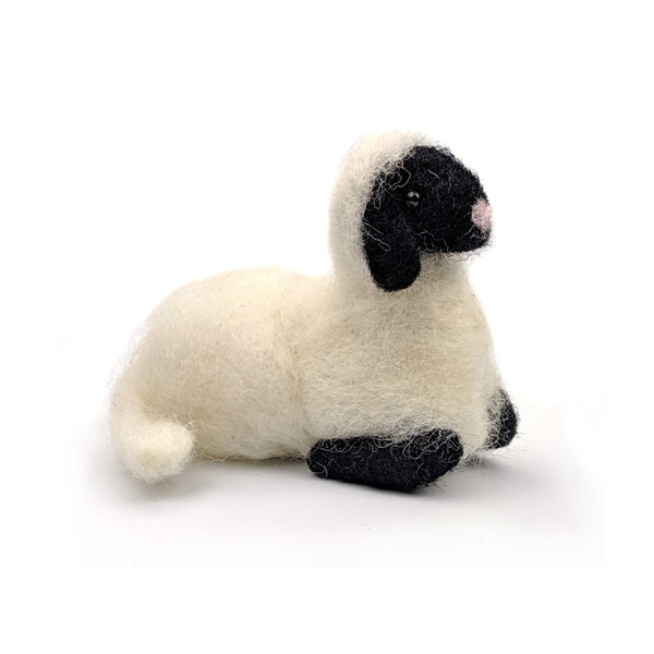 The Crafty Kit Company Spring Lamb Needle Felting Kit