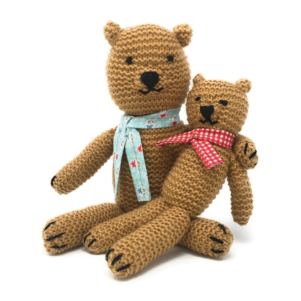 The Craft Kit Company Teddies Knitting Kit