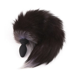 Sexy Fox Tail Vibrating Plug w/Wireless Remote