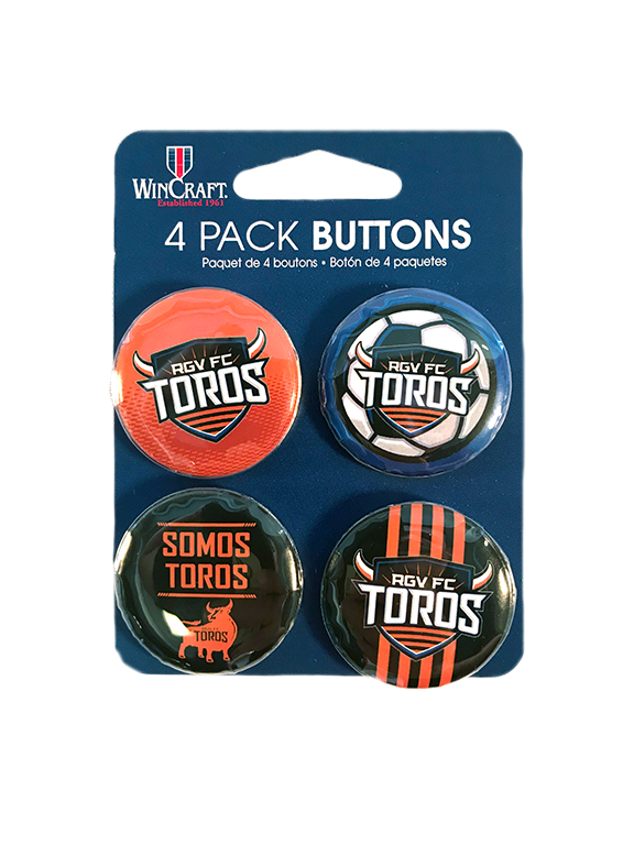 4- Pack Buttons
