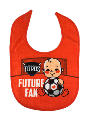 Baby Bib - Toros Future Fan