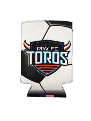 Can Cooler Toros Soccer Ball