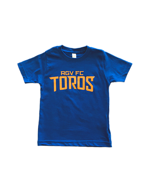 Toddler Royal Blue w/orange RGV FC Toros