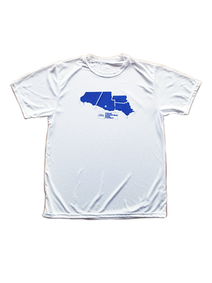 Men's Four Counties White Tee
