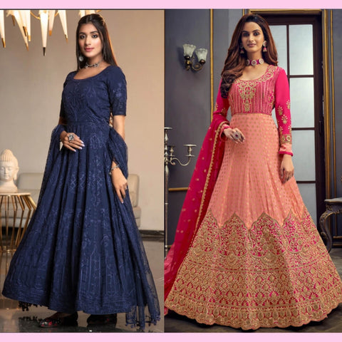 Different Styles of Anarkali