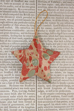 Load image into Gallery viewer, Marbled papier-mâché 5 point, 3 inch stars - various colour options