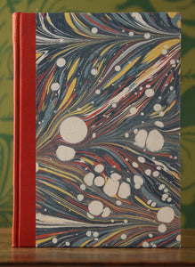 Marbled Paper and Leather Notebooks