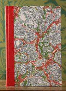 Marbled Paper and Cloth Notebooks