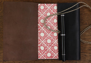 Small Long Stitch Journals - Vegetable dyed leather, various colours