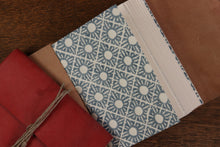 Load image into Gallery viewer, Small Long Stitch Journals - Vegetable dyed leather, various colours