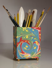 Load image into Gallery viewer, Marbled Pencil Pot - Medium