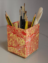 Load image into Gallery viewer, Marbled Pencil Pot - Large