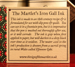 Iron Gall Ink - 60ml bottle