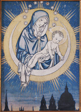 Load image into Gallery viewer, Our Lady of London by Martin Travers - Greetings card