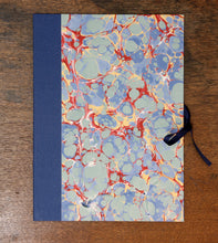 Load image into Gallery viewer, Handmade marbled Portfolio - number 2.