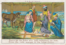 Load image into Gallery viewer, Christmas Card pack - Victorian Christmas Wishes