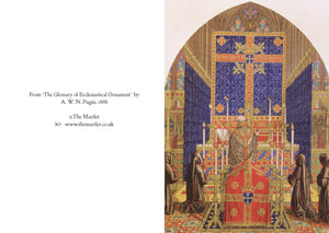 Pugin Requiem greetings card