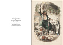 Load image into Gallery viewer, Christmas Card pack - Dickens, Scrooge, The Ghost of Christmas Present