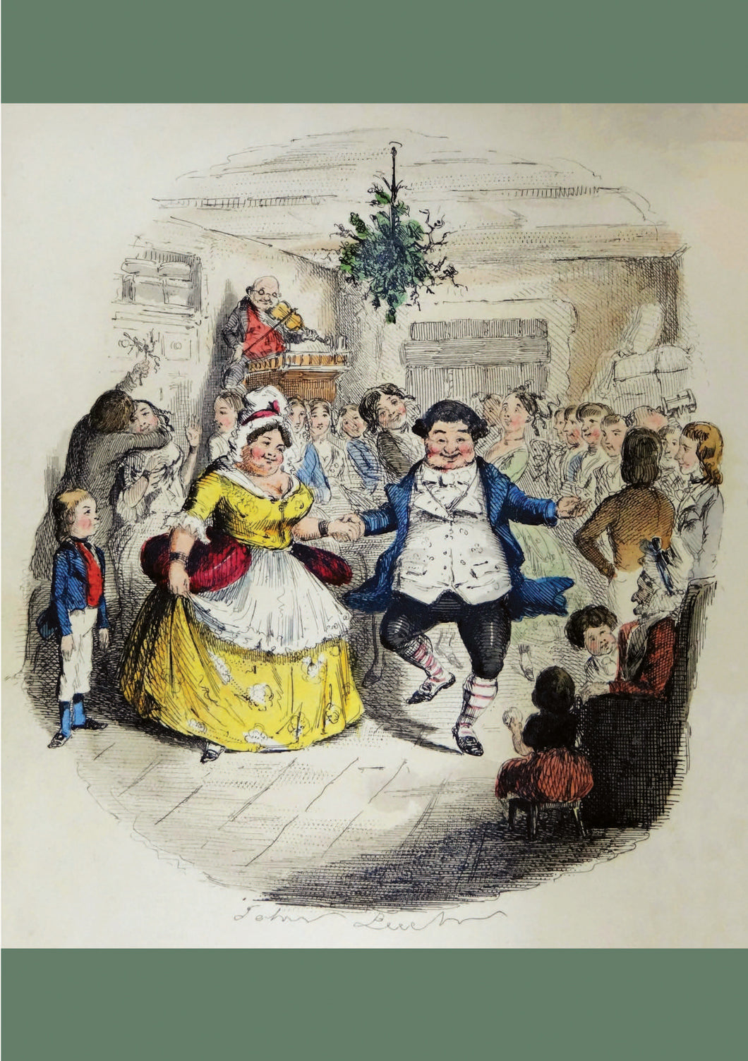 Christmas Card pack -Dickens Fezziwigg's Ball