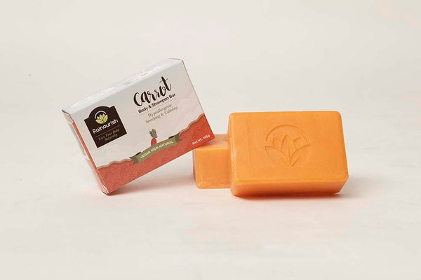 Carrot Body and Shampoo  Bar